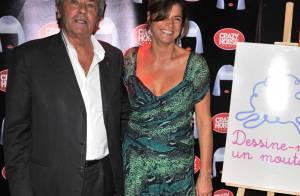 Alain Delon, débordé par ses coups de coeur, retrouve sa fille Anouchka !