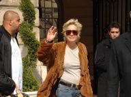 PHOTOS : Sharon Stone et son nouveau compagnon quittent Paris