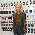 Alexandra Golovanoff a misé sur un perfecto en cuir marron... pour un look au top !