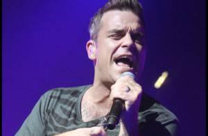 Découvrez Robbie Williams déchaîné lors de son concert privé !