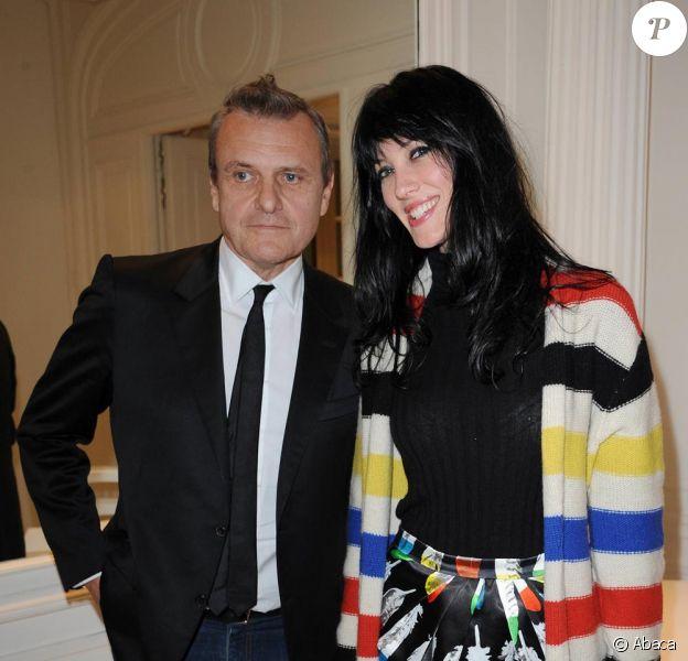 Mareva Galanter et Jean-Charles de Castelbajac lors du Prix Meurice à Paris le 11/10/10