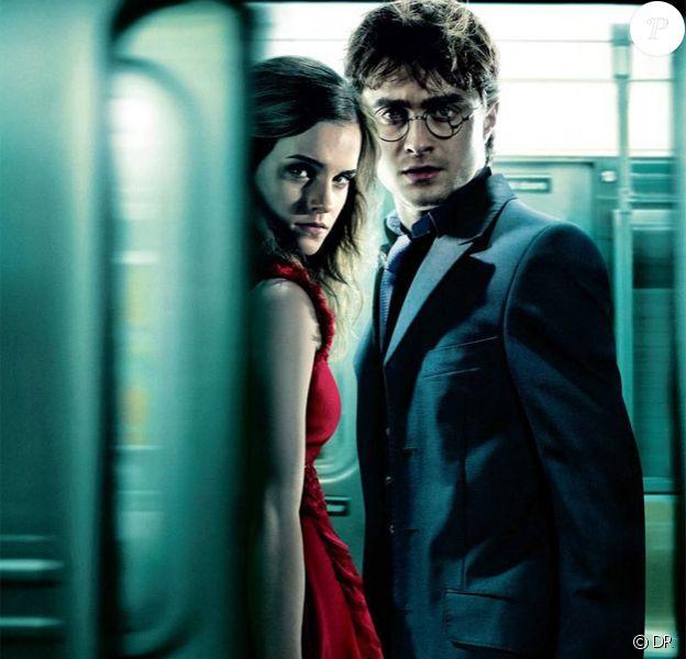 Nouvelle affiche de Harry Potter et les Reliques de la mort - partie I : Hermione et Daniel Radcliffe