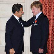 Le grand Robert Redford honoré par le président Nicolas Sarkozy !
