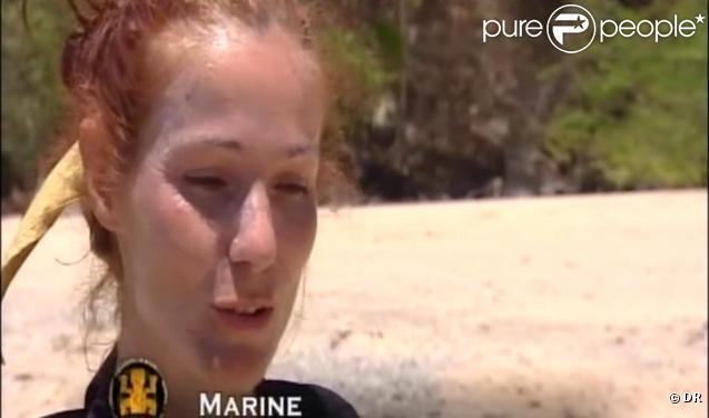 Marine, éliminée par ses camarades jaunes