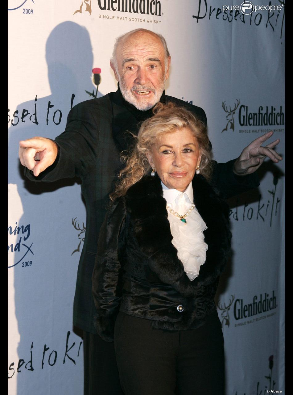 Sean connery et sa femme micheline roquebrune purepeople sean connery et sa femme micheline roquebrune altavistaventures Gallery