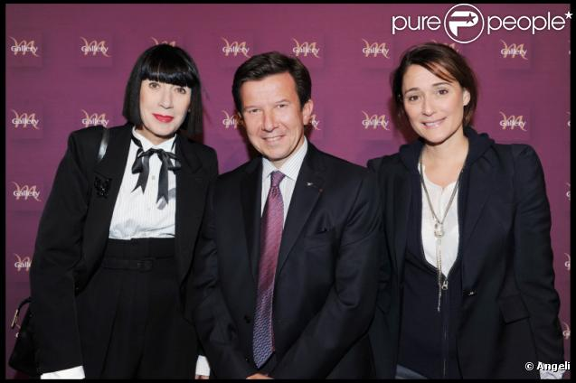 Chantal thomass gilles p lisson et daniela lumbroso lors de la soir e de lan - Hotel chantal thomass paris 15 ...