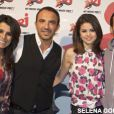 Selena Gomez et l'équipe du 6/9 Nikos Aliagas, Karine Ferri et Mustapha El Atrassi