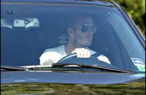 PHOTOS : David Beckham arrêté par la police