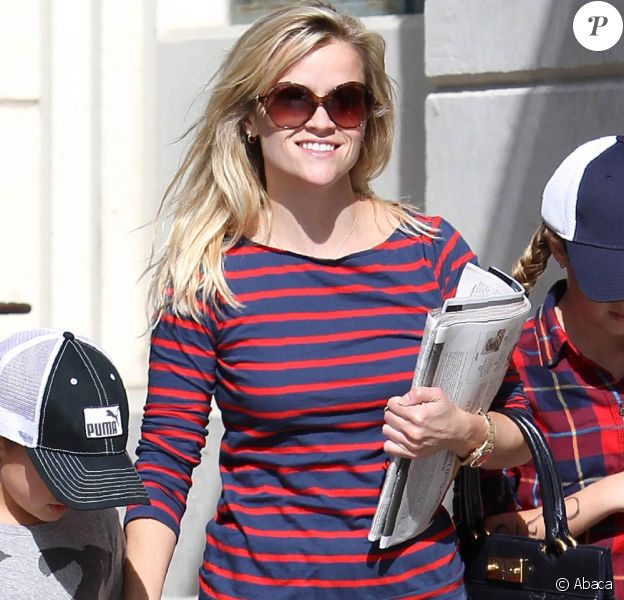 Reese Witherspoon à Brentwood, le 24 octobre 2010