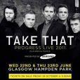Take That en tournée en 2011