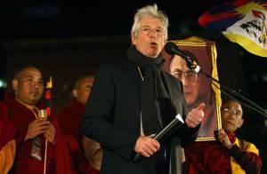 PHOTOS : Richard Gere manifeste contre les JO de Pékin