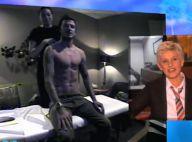 Regardez David Beckham, dans un élan de folie, surprendre une masseuse de L.A...