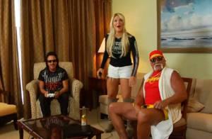 Hulk Hogan nouveau géant du rap... avec l'aide de sa fille, la sexy Brooke !