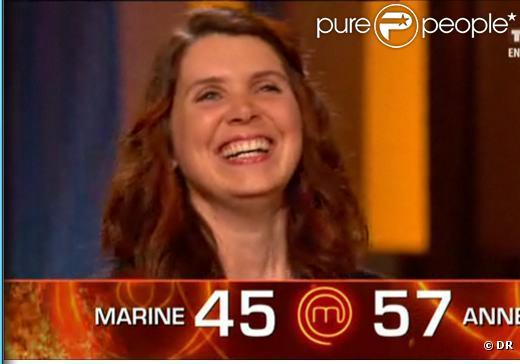 Anne est la première MasterChef de France ! (4 novembre 2010 ...
