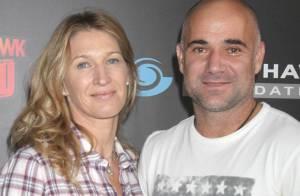 Steffi Graf et Andre Agassi : Les inséparables amoureux s'essaient au skate !