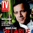 Jean-Luc Delarue en couverture du TV Mag en kiosques le 11 novembre 2010