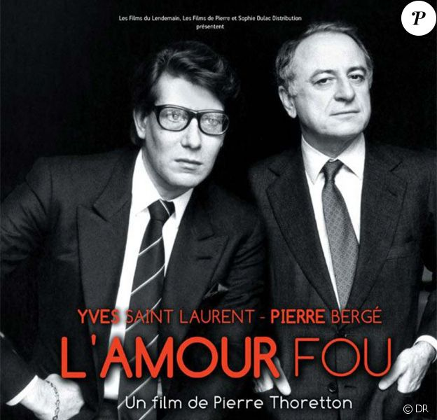 Yves Saint Laurent et Pierre Bergé, images extraites du film L'amour fou, en salles le 22 septembre 2010
