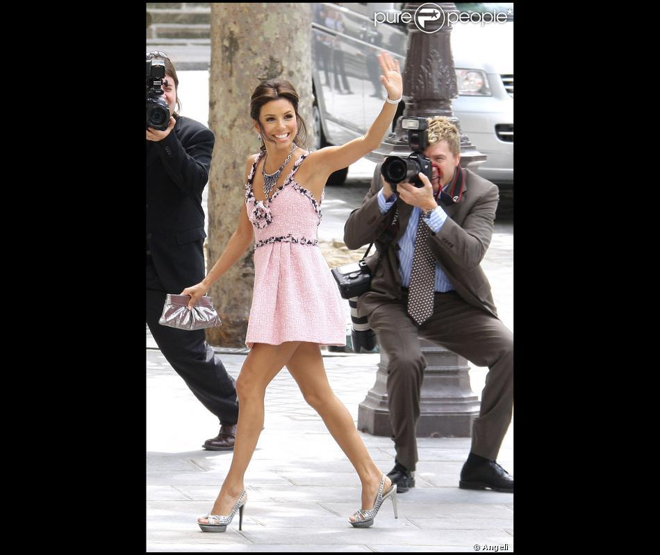 Eva Longoria, Chanel, Paris