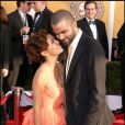 Eva Longoria et Tony Parker amoureux comme au premier jour à Los Angeles le 29 janvier 2009.