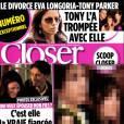 Magazine  Closer  daté du samedi 20 novembre.