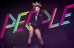 Ysa Ferrer, sexy en diable, se fiche de tout dans son dernier clip !