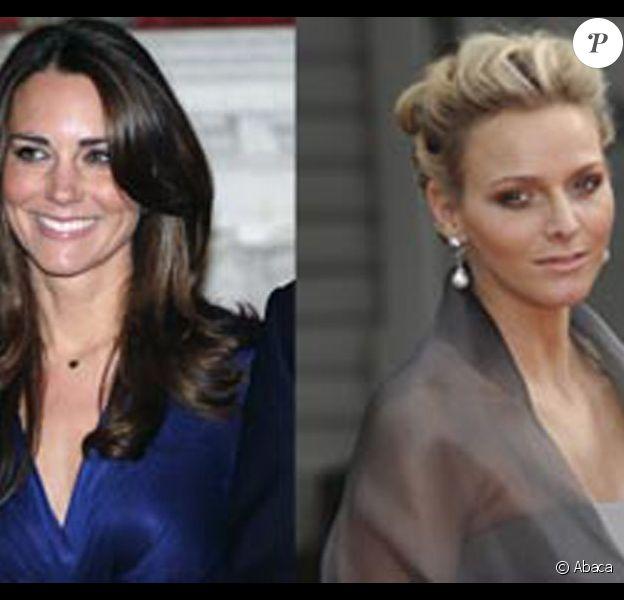 Kate Middleton et Charlene Wittstock