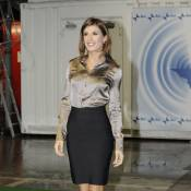 Elisabetta Canalis joue la First lady, elle est irrésistiblement élégante !