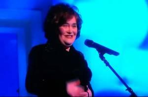 Susan Boyle rate une prestation télé en direct... mais gagne un super duo !