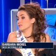 Miss Nationale, interrogée sur BFM TV.