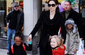 Angelina Jolie : La fièvre acheteuse avec Maddox, Shiloh, Zahara et Pax !