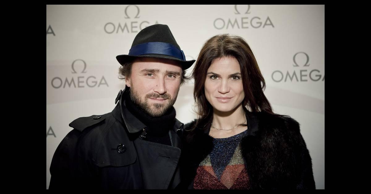 Alexandre brasseur et sa femme juliette lors de la soir e du lancement de la collection - Alexandre jardin et sa femme ...