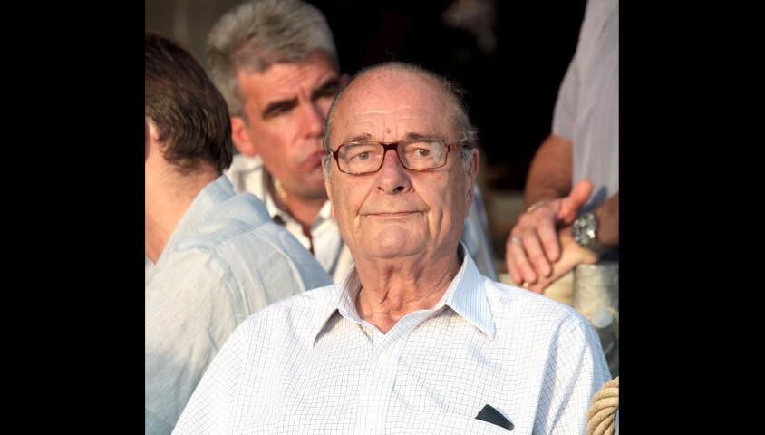 L'ancien président de la République française Jacques Chirac