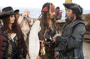 Pirates des Caraïbes 4 : Nouvelles images avec Johnny Depp et Penélope Cruz !