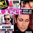 Le magazine  Closer  en kiosques le samedi 11 décembre 2010.