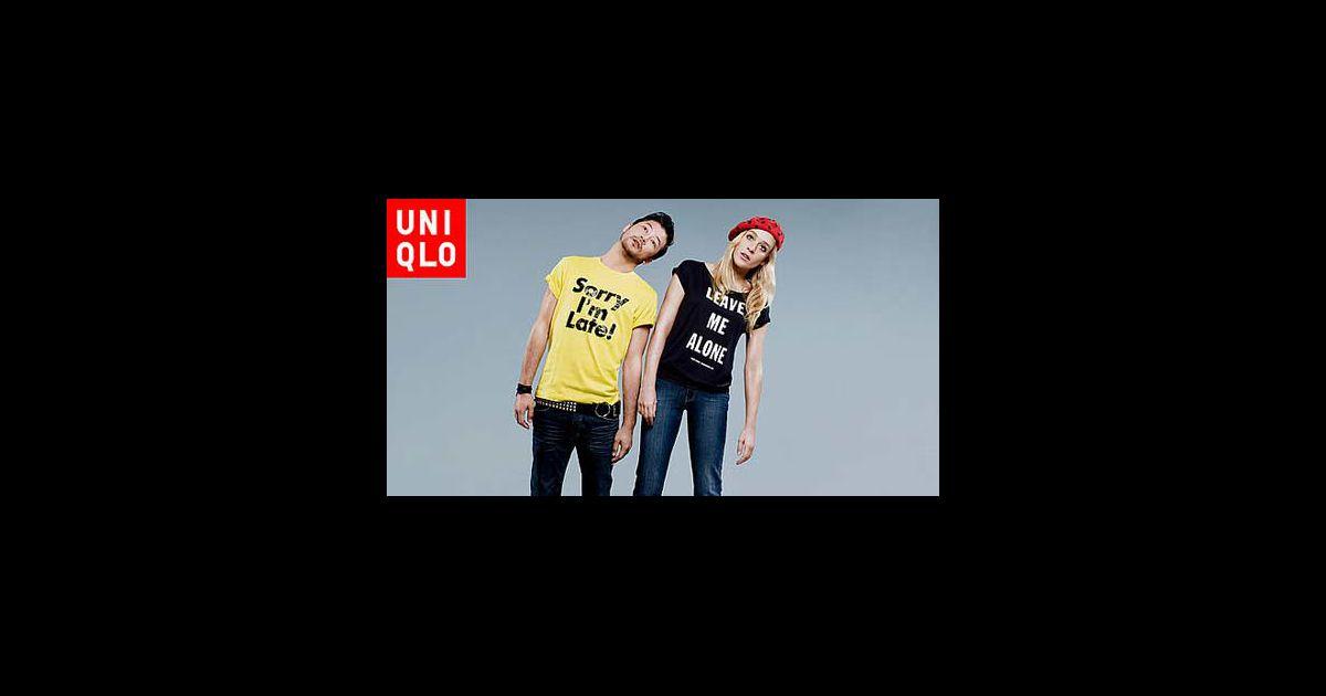 Chloë Sevigny et Tadanobu Asano posent pour Uniqlo...