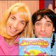 David Strajmayster - Doudi - alias Samantha Oups ! au côté de Guillaume Carcaud - Pepess