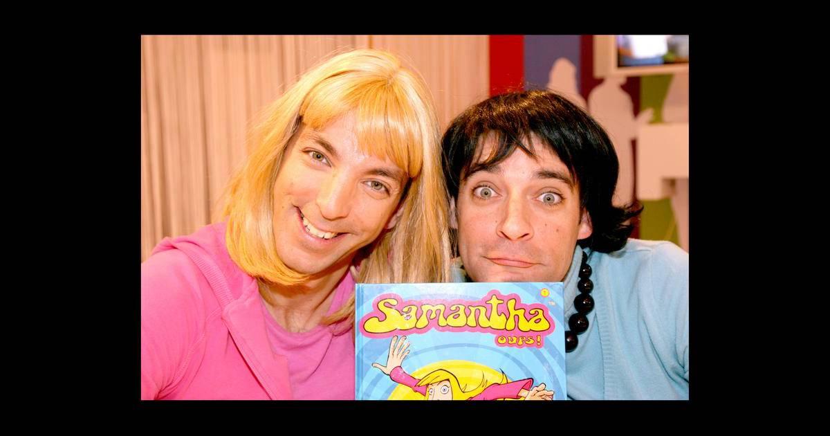 David strajmayster doudi alias samantha oups au c t de guillaume carcaud pepess - Samantha oups sur le banc ...