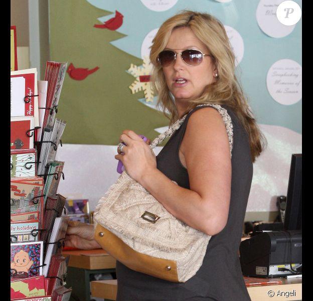 Penny Lancaster à Beverly Hills, le 13 décembre 2010.