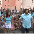 Les acteurs de Camping Paradis proposent un flashmob  !