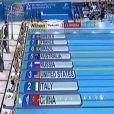 Finale 4x100 m nage libre aux championnats du monde, à Dubaï, le 15 décembre 2010