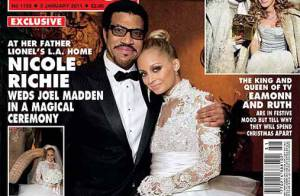 Nicole Richie : la jolie mariée rayonne dans les bras de papa Lionel !
