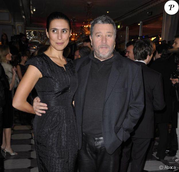 Philippe Starck et sa femme Jasmine
