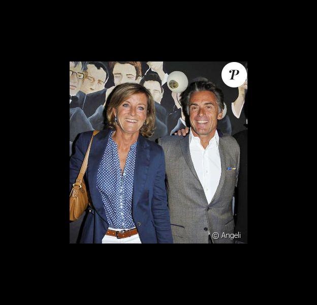 Gérard Holtz et sa compagne Hélène en septembre 2010