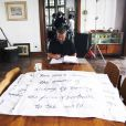Luc Besson sur le tournage du film The Lady avec Michelle Yeoh