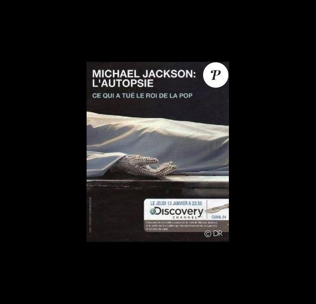 La diffusion du documentaire produit par Discovery Channel sur l'autopsie de Michael Jackson est suspendue pour une durée indéterminée.