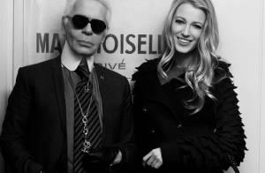Karl Lagerfeld est fier de présenter Blake Lively, nouvelle égérie Chanel !