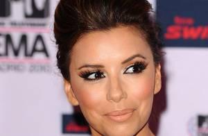 Eva Longoria : Make-up faux pas pour une soirée avec un charmant acteur...