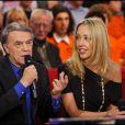 Salvatore et Amélie Adamo lors de l'émission Vivement Dimanche, diffusée sur France 2 le 9 janvier 2011.