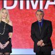 Salvatore et Amélie Adamo sur le plateau du Vivement Dimanche, diffusé le 9 janvier 2010 sur France 2.