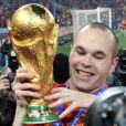 Andres Iniesta, auteur du but victorieux de la Roja en finale de la Coupe du monde 2010, était nominé avec ses coéquipiers Messi et Xavi pour le Ballon d'or 2011...